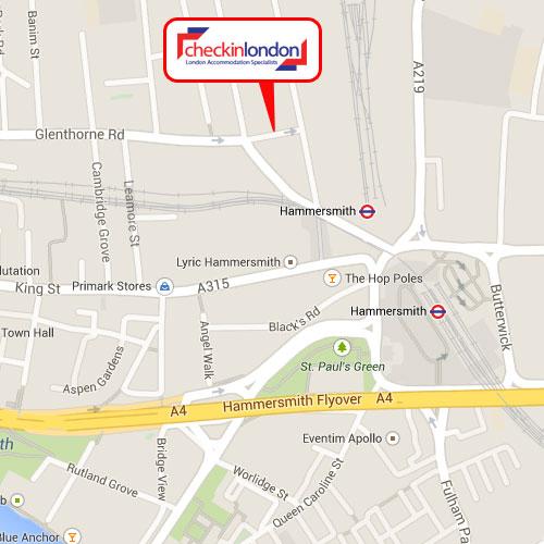 Check-in-London Address
