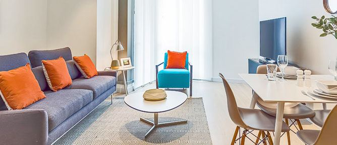 Do I have to pay a deposit when I rent a London serviced apartment?