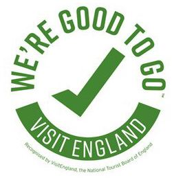 We're Good To Go - Visit England - Official UK mark